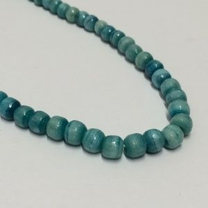 Vintage Glass Stone Beaded Necklace